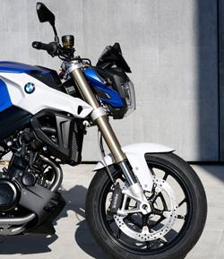 Die neue BMW F800R 2015